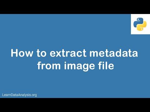 Python Tutorial   How To Extract Image Metadata With Python