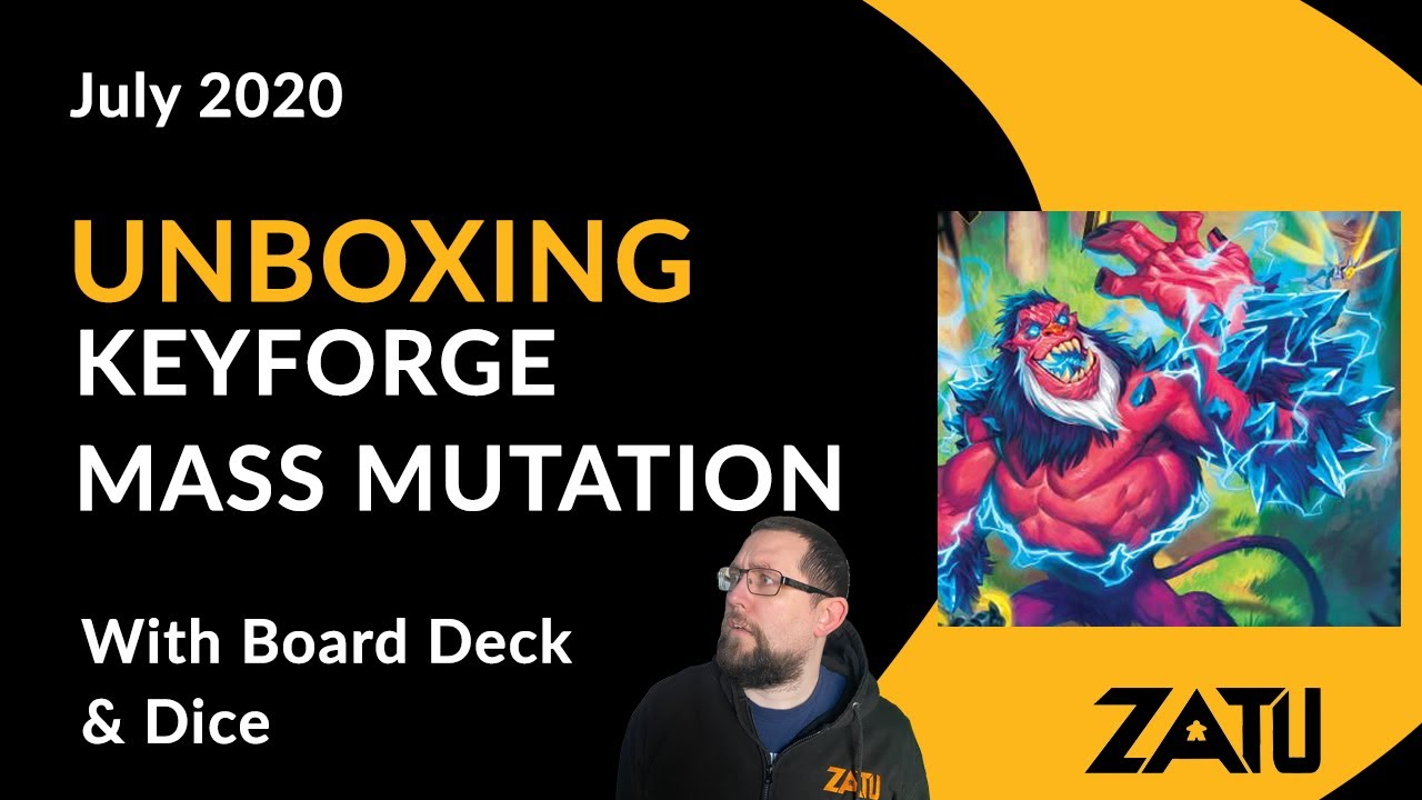 Keyforge: Mass Mutation Unboxing
