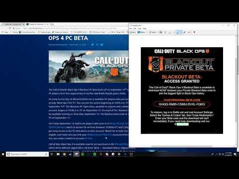 Free Black Ops 4 Beta Keys | Streamer Keys | Comment Below