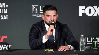 UFC on FOX 25: Kelvin Gastelum Post-Fight Press Conference - MMA Fighting
