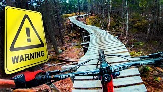 You Know It's GNARLY When There's a WARNING!