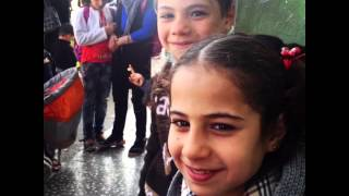 Bayt al Amal children teach us...the Arabic alphabet