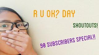 R U OK? Day! | 90 SUBSCRIBERS SPECIAL!! | vlog | Australia