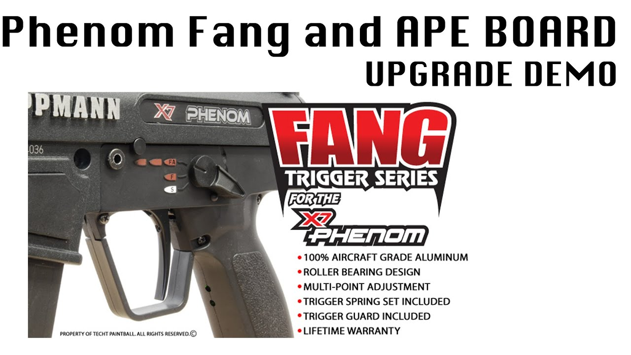 Tipman X7 Auto Trigger Diagram Worksheet And Wiring Tippmann Phenom Mechanical V131129 Techt Fang For Use With Ape Rampage Board On Rh Youtube Com