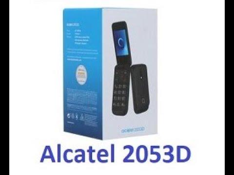 Бюджетный телефон Alcatel 2053D