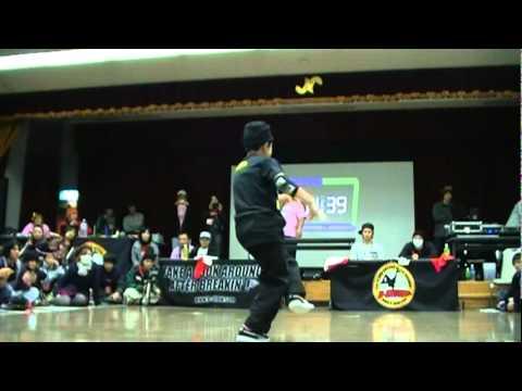 B-SHOW 33 BEST8 K.A.K.B.(ハヤト&SHIGEKIX) vs Babylon & Twisted 20110116