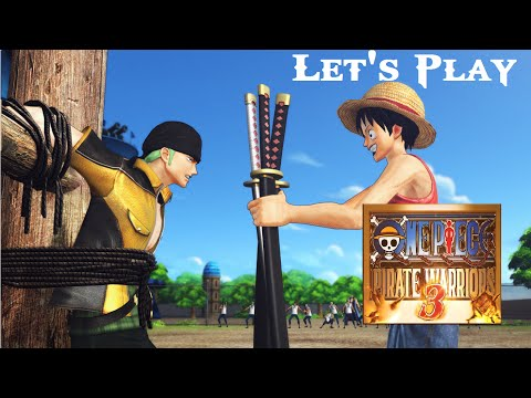 Let's Play découverte One Piece Pirate Warriors 3