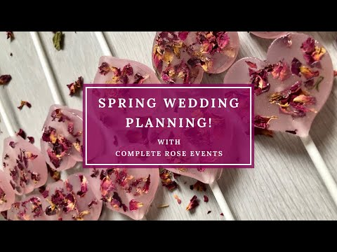 Spring Wedding Planning!