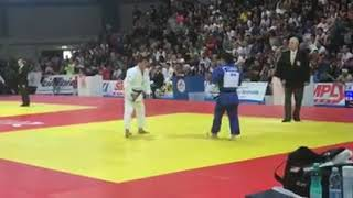 Final -73 Kg Japan Komuro Koji. Dehnad Referee  1.10.2017 Judo world championships veterans.2017