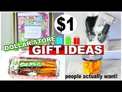 DOLLAR STORE CHRISTMAS GIFTS UNDER $5 | LAST MINUTE  DIY GIFTS PEOPLE WILL WANT TO RECIEVE