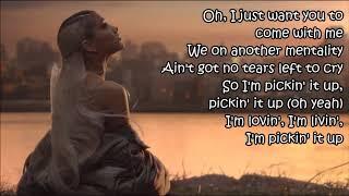 Gambar cover 💧 Ariana Grande - No Tears Left To Cry 💧 (Lyrics)