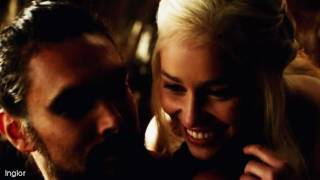 Drogo & Daenerys | My sun and stars.