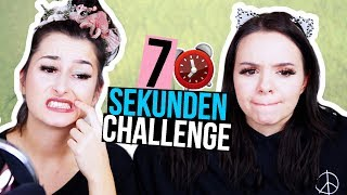 MAKEUP in 7 SEKUNDEN! - 7 Sekunden Challenge - unlikely