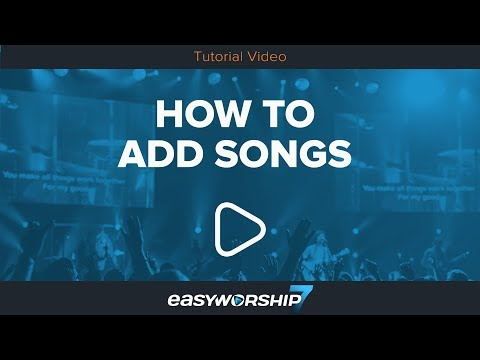How To Add Songs