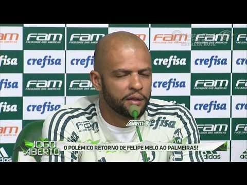 Felipe Melo é Reintegrado Ao Grupo Do Verdão