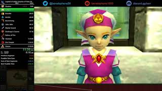 Ocarina of Time 3D MST Speedrun in 2:12:15 [World Record]