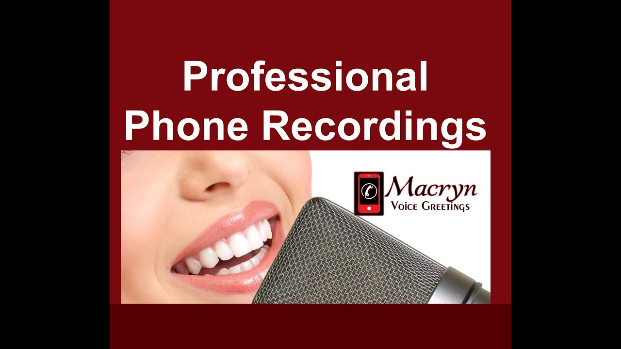We record professional voicemail greetings auto attendant ivr voice we record professional voicemail greetings auto attendant ivr voice prompts m4hsunfo