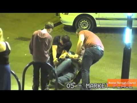 Surveillance Video Catches Men's Random Act of Kindness