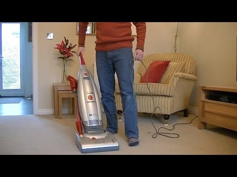 Hoover Purepower 2100 Watt Upright Vacuum Cleaner Demonstration & Review