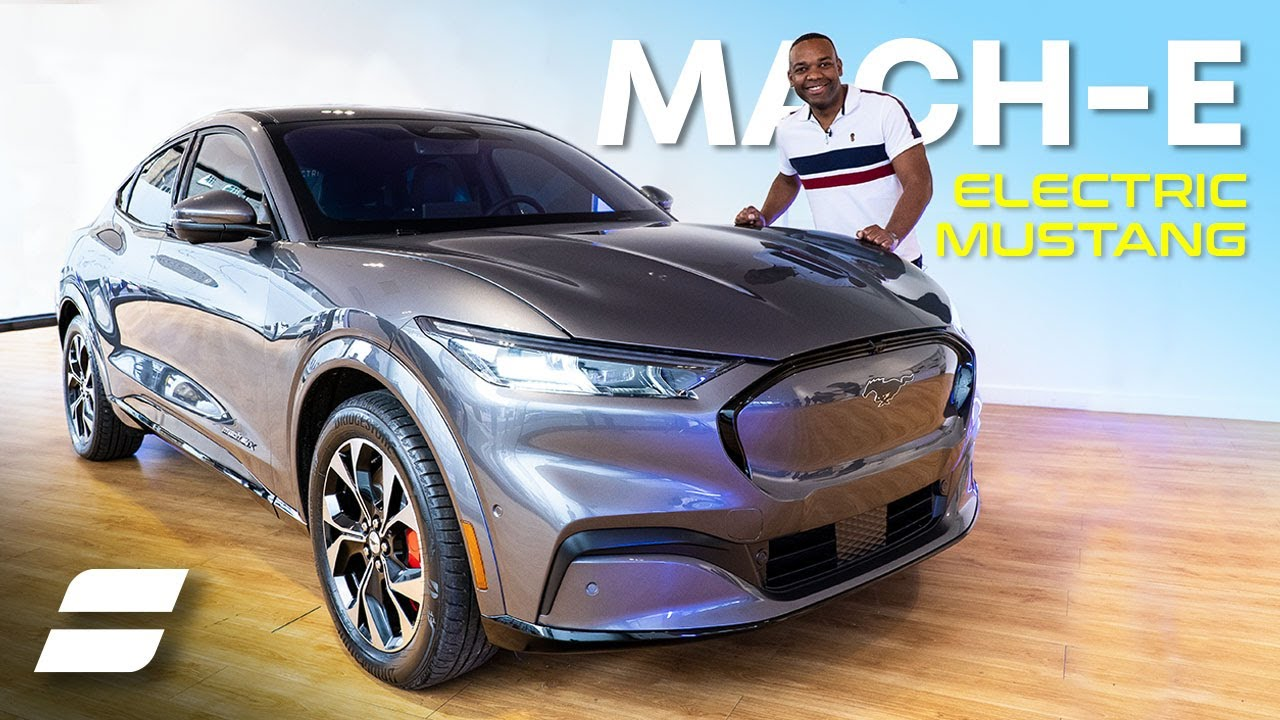 Video Electric Mustang Mach E Hits London Auto Trader Uk
