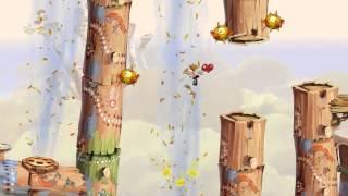 11 - Прохождение Rayman Origins - Ищи ветра в поле - Пустыня диджириду