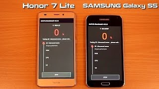 HONOR 7 Lite vs SAMSUNG Galaxy S5 AnTuTu Benchmark test