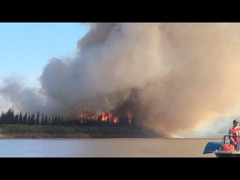 Arctic Wildfires On The Rise In Canada