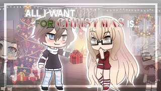 All I Want For Christmas Is... | Gacha Life Mini Movie | GLMM