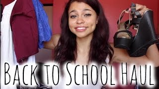 Back to School Clothing and Shoe Haul!