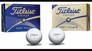 2016 Titleist NXT Tour, NXT Tour S Golf Balls