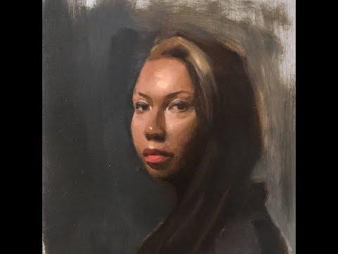 Alla-Prima Portrait Painting | Full-Length Tutorial