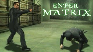 Enter the Matrix - Original Xbox Gameplay (2003) Subscribe: http://goo.gl/01dGfm Enter the Matrix is an action-adventure video game developed by Shiny ...