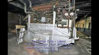 Used - Second Hand - FW Schaefer High Efficiency Aluminum Melting Furnace For Sale