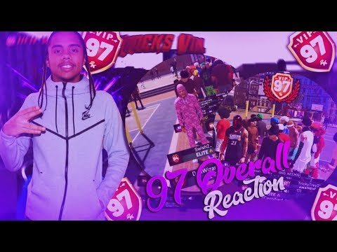 Live Reaction Hitting 97 Overall Pure Shot Creator!! NBA 2K19