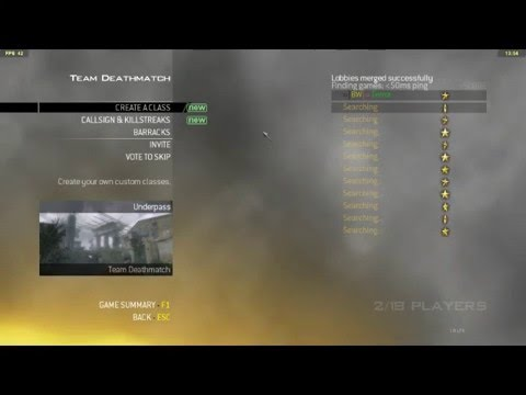 trying to connect to a mw2 server on pc now there aren't any dedicated  servers