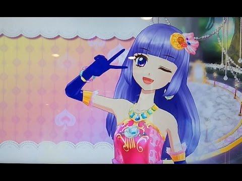아이엠스타 게임 - 타르트 타탱 (난이도★★★) VS 크링y アイカツゲーム Aikatsu game 「써머 나이트문 드레스」