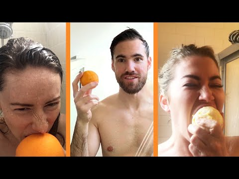 Is Eating An Orange In The Shower The Best Thing Ever?