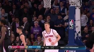 Quarter 4 One Box Video :Knicks Vs. Clippers,...