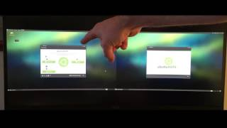 Intel NUC (NUC5CPYH) side by side Raspberry Pi 3 running Ubuntu Mate