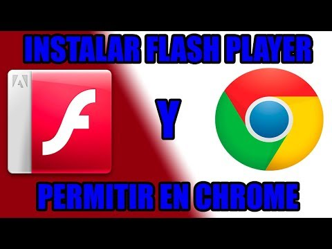 Descargar FLASH PLAYER Y Permitir En Google Chrome