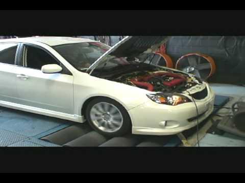 2008 Subaru WRX on Dyno GT3076R Turbo 392awhp 20psi