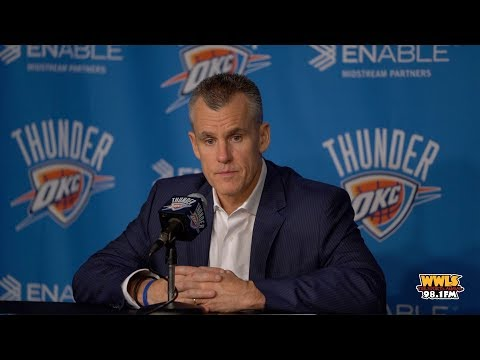 Coach Billy Donovan discusses PG foul trouble, bad calls, and more