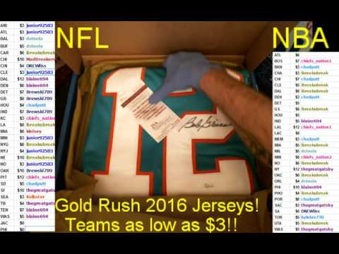 Gold Rush NFL Box 4 of Case 12 Bob Griese