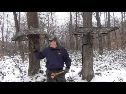 Tree Stand Rain Canopies