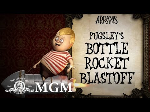 THE ADDAMS FAMILY | DIY: How To Make Pugsley's Rocket Ship | MGM