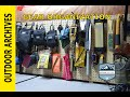 Gear Storage and organization