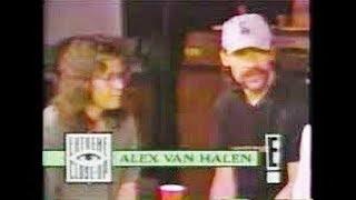 EDDIE AN ALEX VAN HALEN Awesome interview 1992