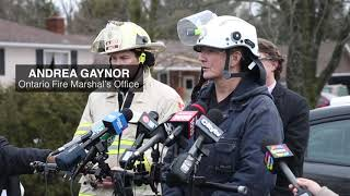Timeline unclear for families to return home after Caledon house explosion