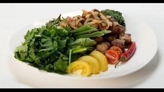 Оджахури из свинины с жареным луком | Мясо. От филе до фарша