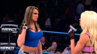 Angelina Love wants an answer from Velvet Sky (March 27, 2014)